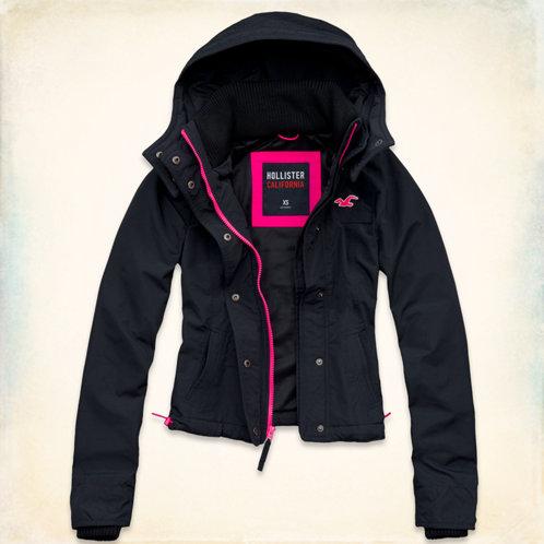girls hollister allweather jacket girls clearance