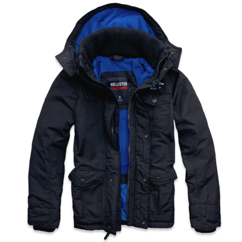 Guys Hollister All-Weather Parka