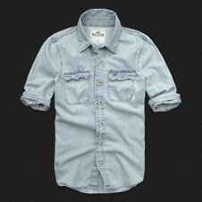 Boys Victoria Beach Denim Shirt
