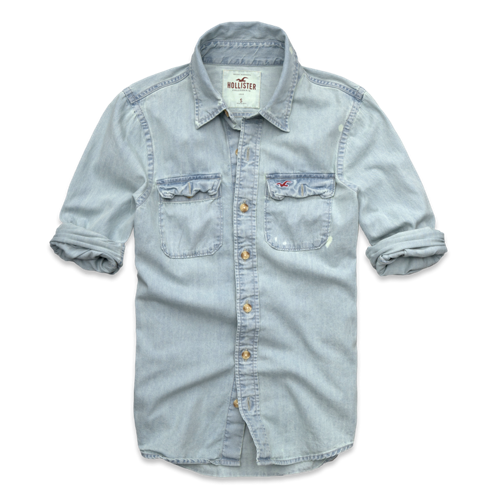Guys Victoria Beach Denim Shirt