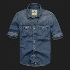 Boys Aliso Creek Denim Shirt
