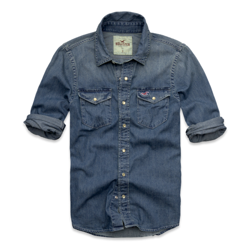 Guys Aliso Creek Denim Shirt
