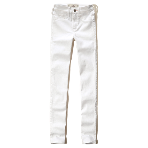 Girls Hollister High Rise Super Skinny Jeans