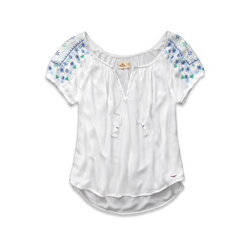 Girls Woods Cove Shine Top
