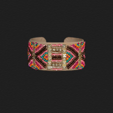 Girls Vintage Beaded Bracelet