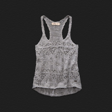 Girls White Point Sweater Tank