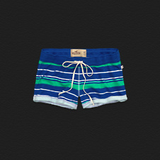 Girls Hollister Cuffed Hem Short-Shorts