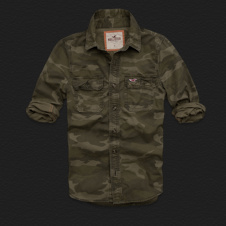 Boys Solimar Camo Shirt