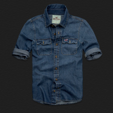 Boys Woods Cove Denim Shirt