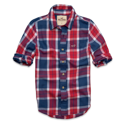 Guys Stone Steps Beach Twill Shirt