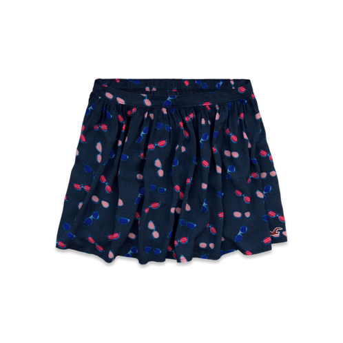 Girls Hollister Sunglass Pattern Skirt