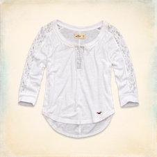 White Point Shine Henley