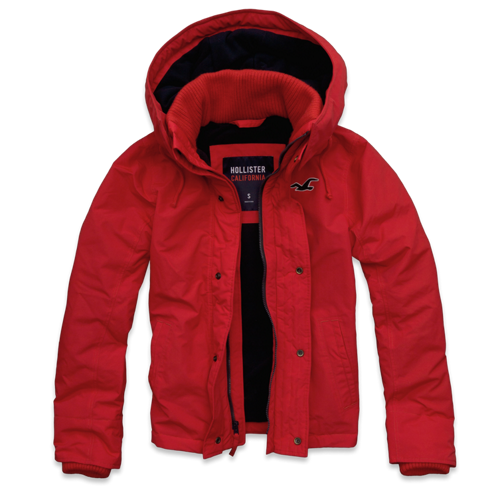 Guys Hollister All-Weather Jacket