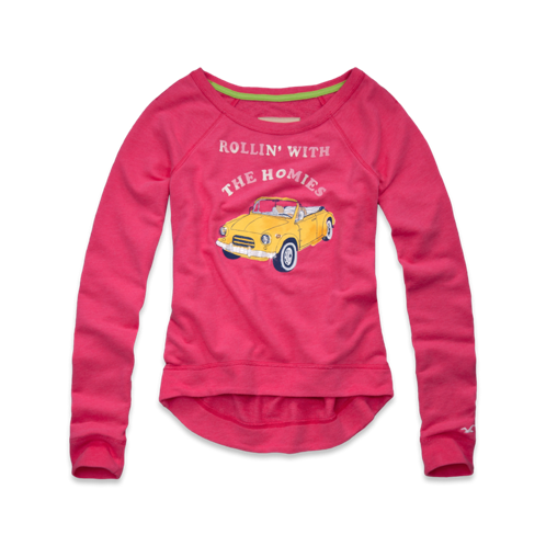 Girls El Pescador Sweatshirt
