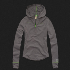 Girls Hollister Active Pullover Hoodie