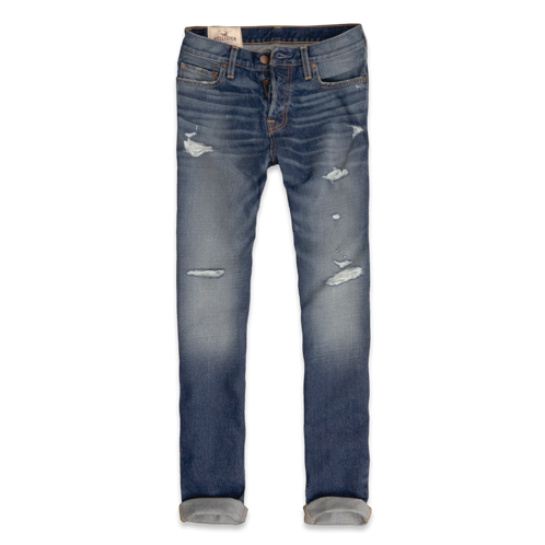 Taper jeans by hand