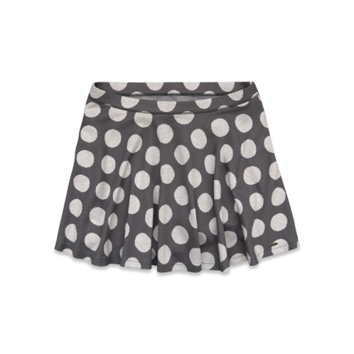 Girls Hollister Dot Skater Skirt