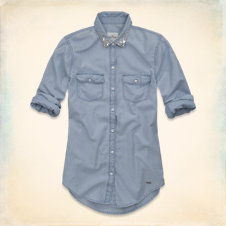 Huntington Beach Denim Shirt