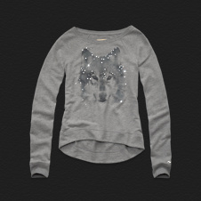 Girls 1,000 Steps Beach Shine Sweatshirt