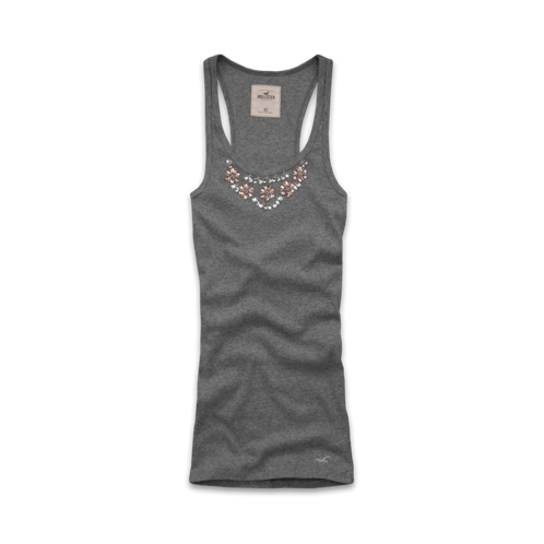 Girls Coronado Island Shine Tank