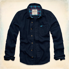 Cabrillo Beach Flannel Shirt