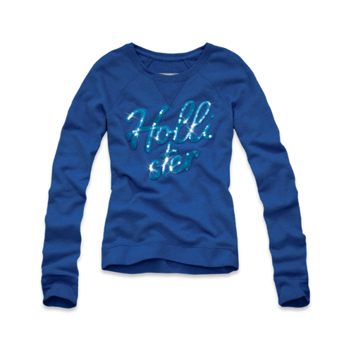 Girls Boomer Beach Shine Sweatshirt
