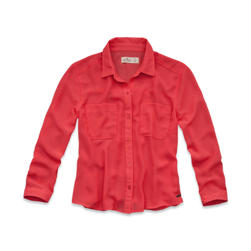 Girls West Street Chiffon Shirt