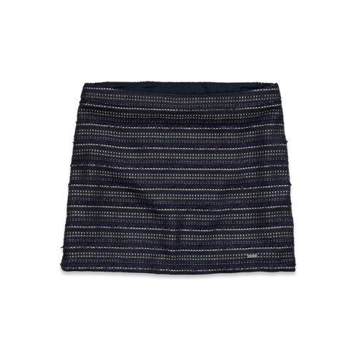 Girls Hollister Tweed Shine Skirt