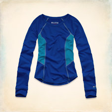 Hollister Sport Long Sleeve Crew