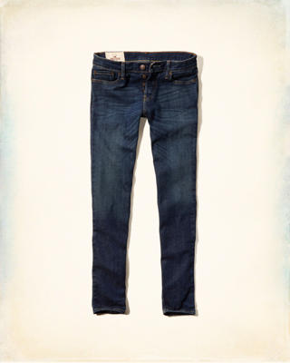 Hollister Super Skinny Button Fly Jeans