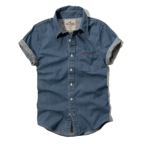 Guys River Jetties Denim Shirt