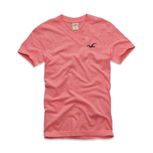 Girls Dana Point V Neck T-Shirt