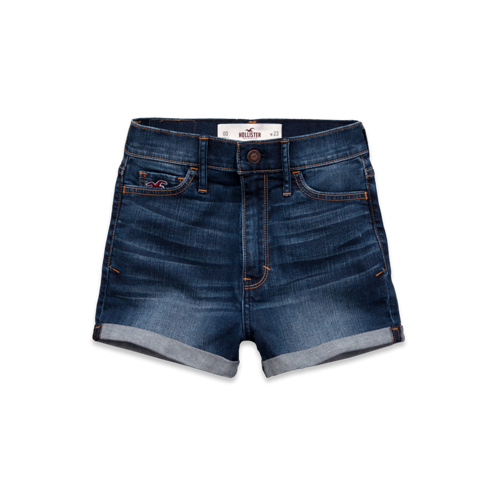 Girls Hollister Natural Waist Short-Shorts