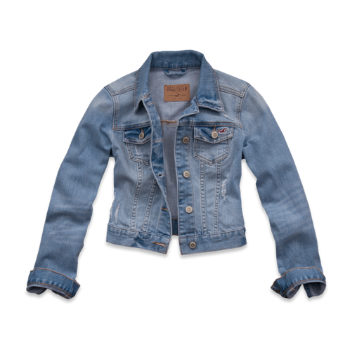 Girls Seaside Reef Denim Jacket
