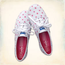 Hollister + Keds Champion Star Print Sneakers