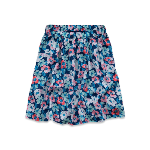 Girls Hollister Natural Waist Skater Skirt