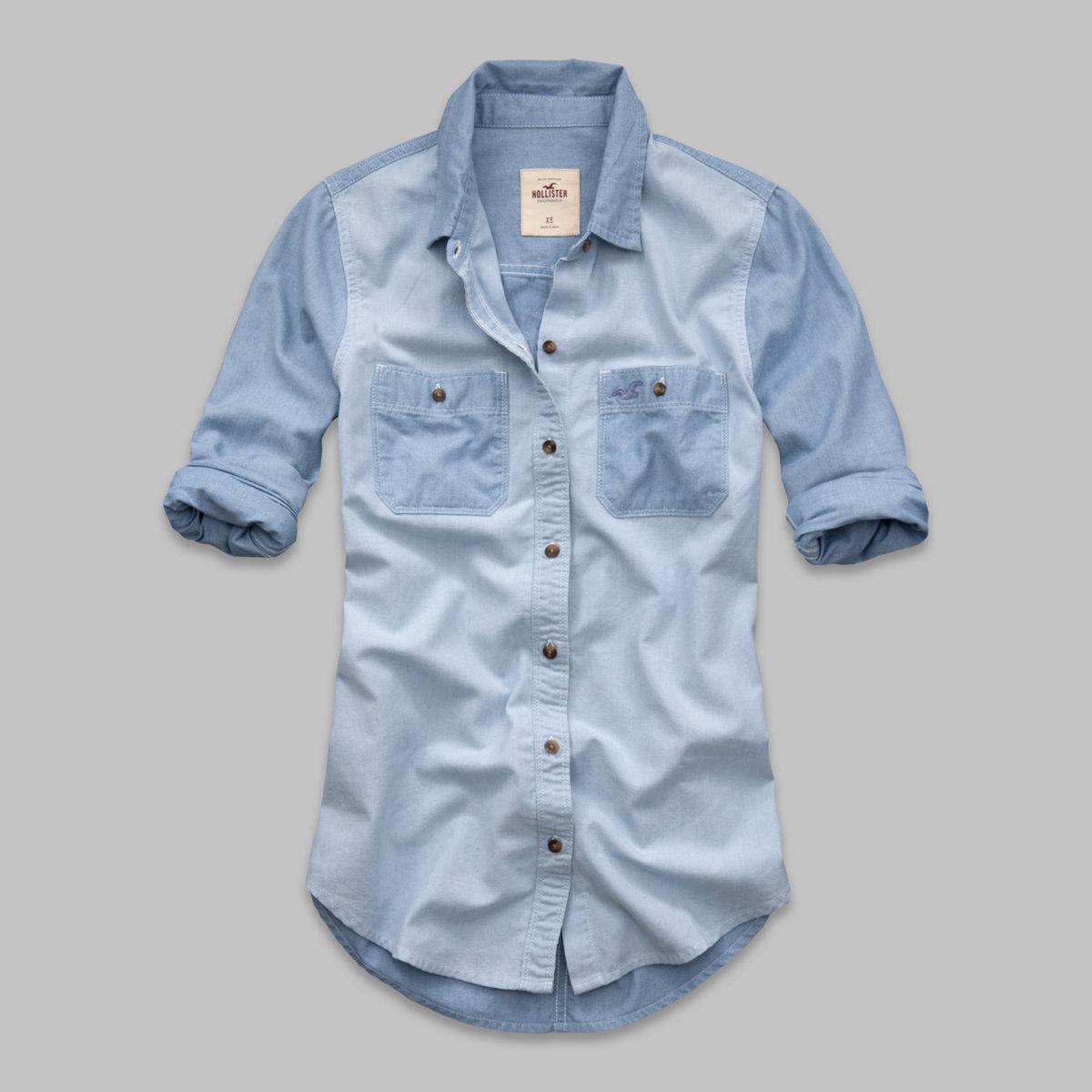 Abalone Cove Chambray Shirt