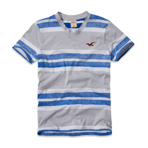 Guys Woods Cove V-Neck T-Shirt
