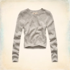 Pearl Street Cropped Sweater