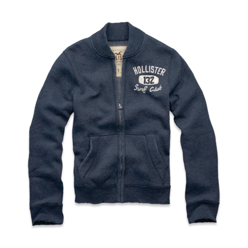 Guys Del Mar Bomber Sweatshirt