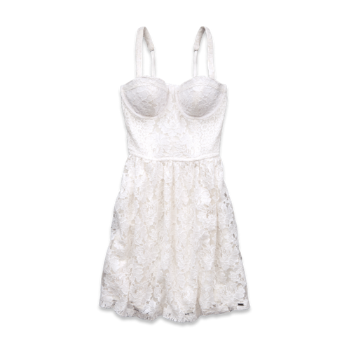 Girls Mission Beach Lace Dress