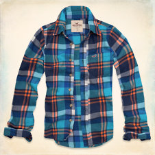 Huntington Beach Flannel Shirt