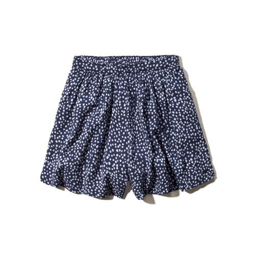 Girls Hollister High Rise Culotte Shorts