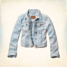Hollister Classic Fit Denim Jacket