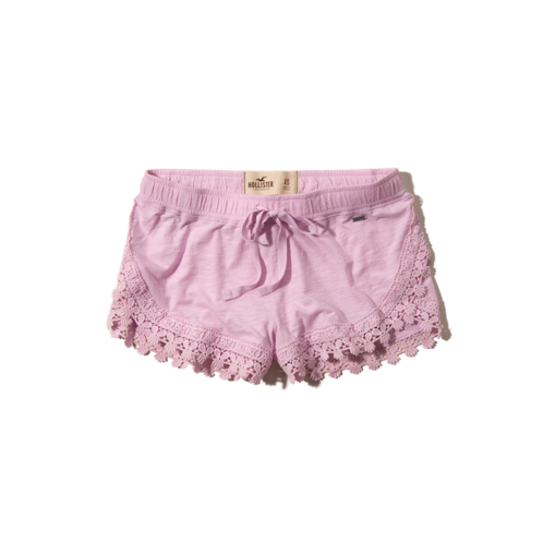 Girls Hollister Drapey Lace Short-Shorts