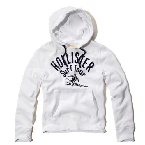 Girls Bluffs Beach Hoodie
