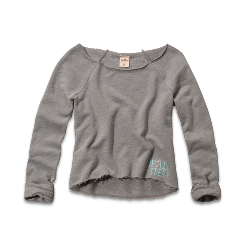 Girls Ramona Cropped Sweatshirt