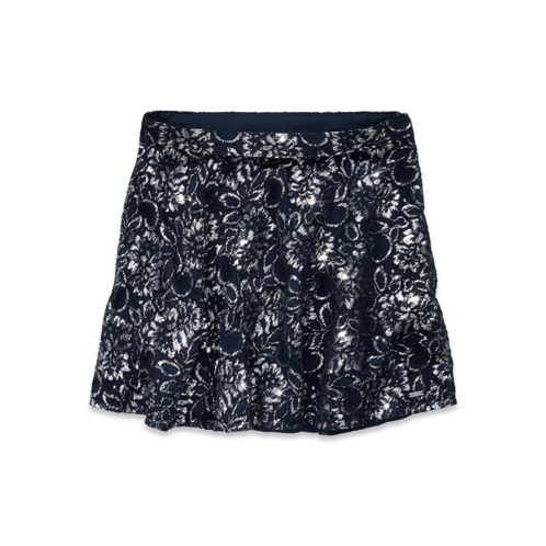 Girls Hollister Shine Skater Skirt