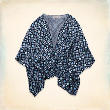 Stands Point Kimono Top
