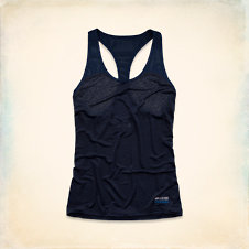 Hollister Sport Burnout Tank